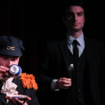 "Alex Grubbs and Willy Appelman in ""The Captain & Edwards"" by Salty Brine, directed by Liz Carlson."
